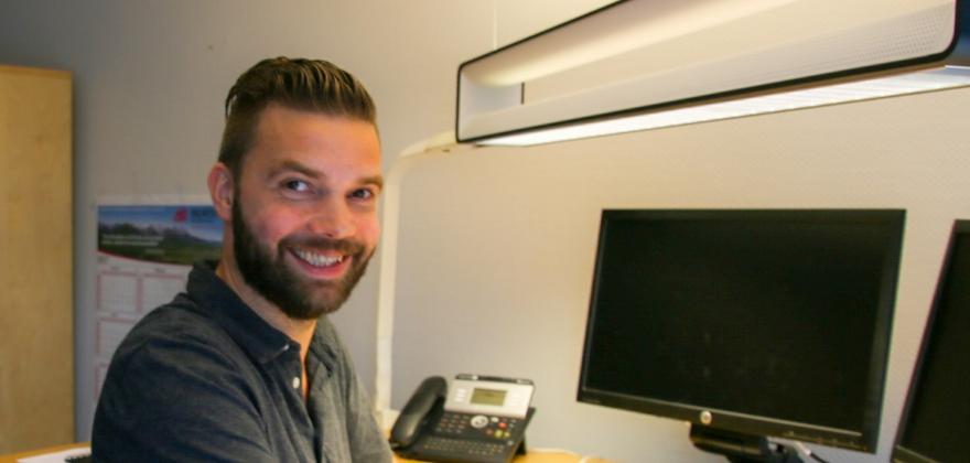 Mads Stian Hansen er spent foran Norges åpningskamp