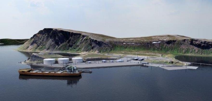 Fylkestinget vil ha oljen til Veidnes