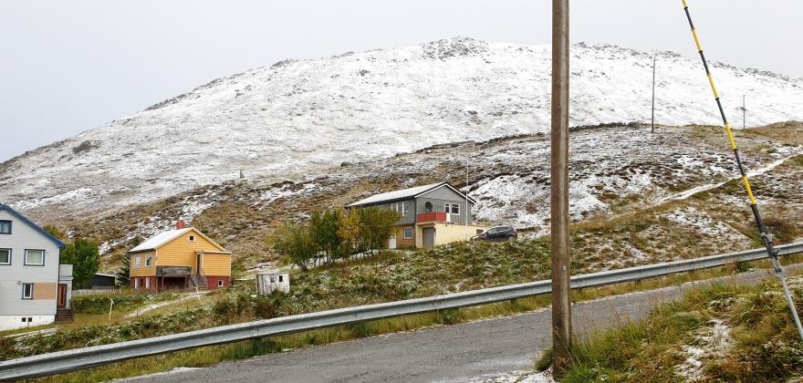 September uvanlig varm i Finnmark