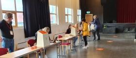 Spørreundersøkelse om valg 2021