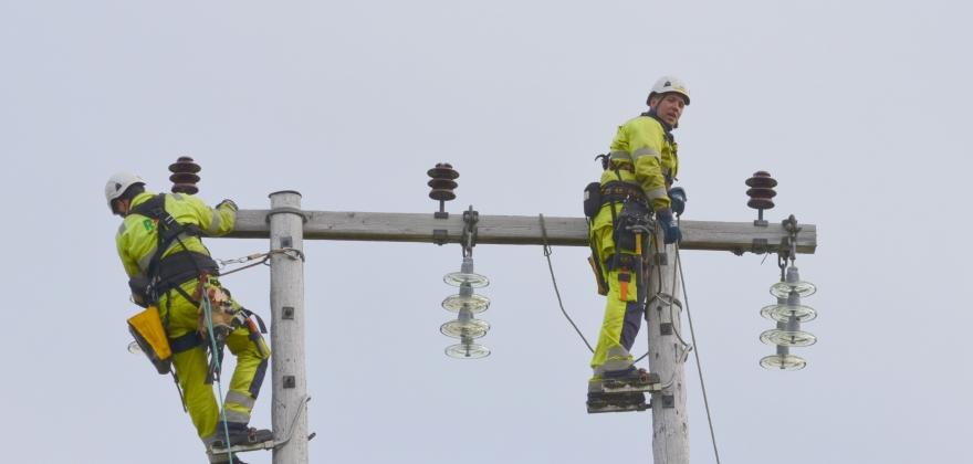 Ingøya har strøm igjen