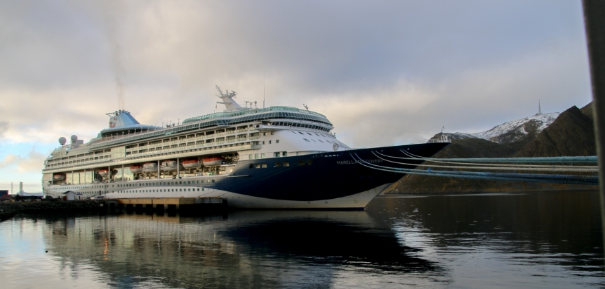 «Marella Discovery» i Honningsvåg