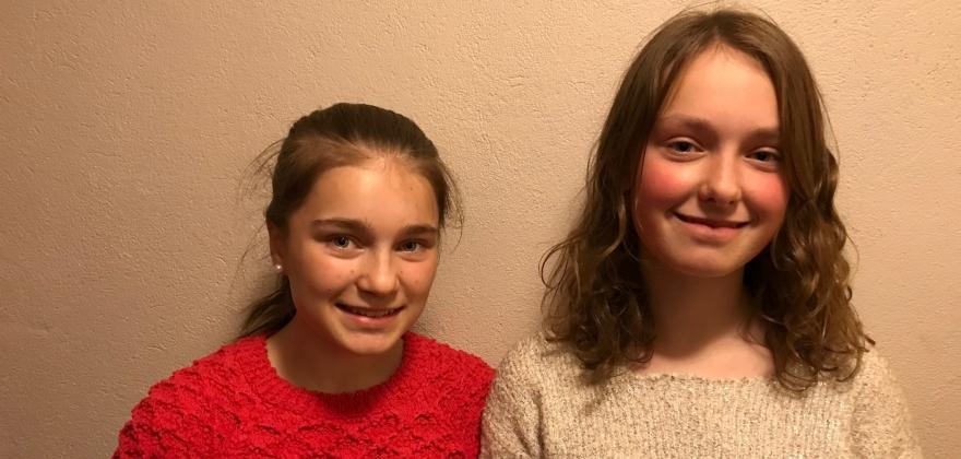 Amie og Emia åpnet barnebokfestivalen