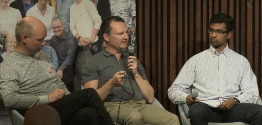 Jan Olsen var gjest i Lysbakkens talkshow