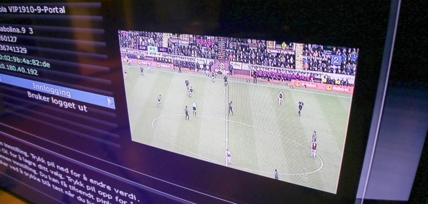 Feil på TV-signalene fra Homebase