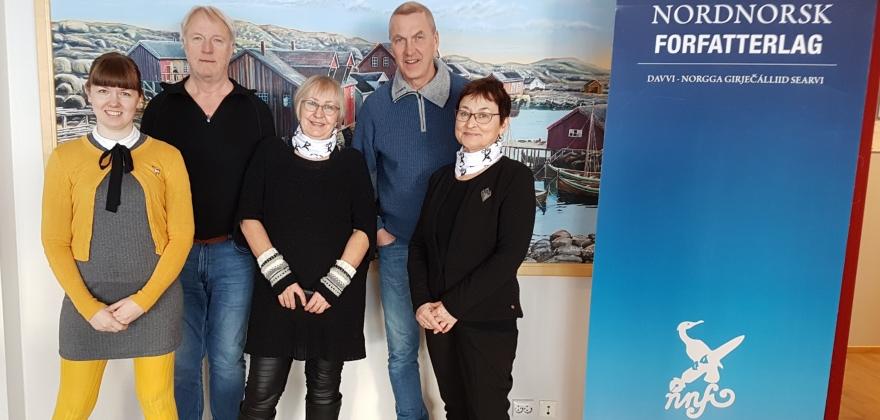 Nytt styre i Nordnorsk Forfatterlag