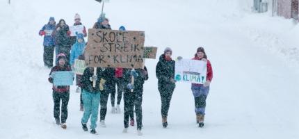 Streiket for klimaet