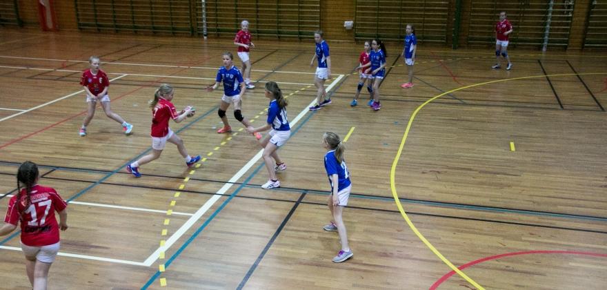 Mange håndballkamper i Honningsvåg