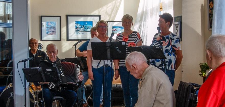 Pensjonisttreff på menighetshuset
