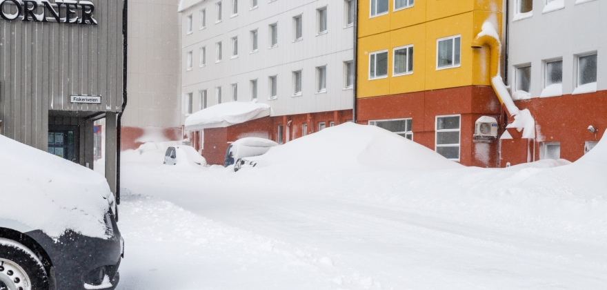 Oppsummeringen viser kort og intens vinter i Finnmark