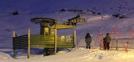 Alpinbakken åpnet