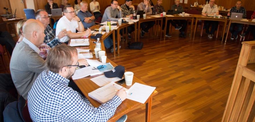 Budsjettregulering i Nordkapp kommunestyre