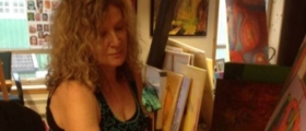 Festivalkunstner Bente Brochmann