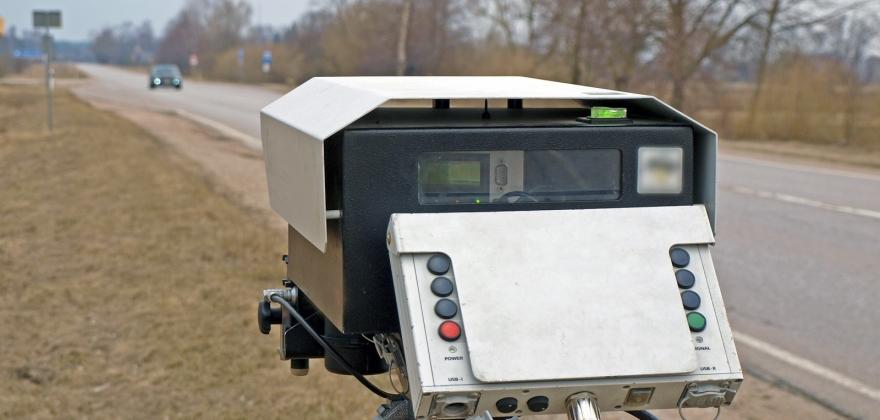 Fartskontroll i Kistrand