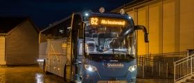 Beltekontroll i buss i Nordkapp-regionen