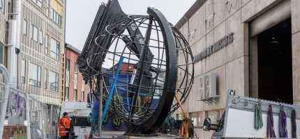 Globusen på verksted