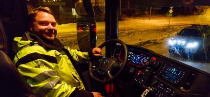 Ny brøytebil til Magerøya