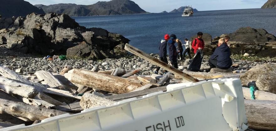 Over 250 000 tonn plastsøppel fjernet