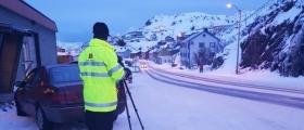 Statens vegvesen gjennomførte kontroll i Honningsvåg
