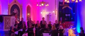 Blandakorkonsert i kirka