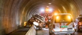Uhell i Nordvågen-tunnelen