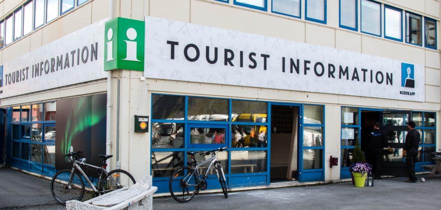 Har åpnet turistinformasjonen igjen