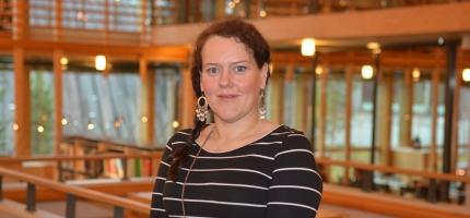 Silje Karine Muotka er innstilt som presidentkandidat