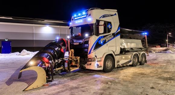 Magerøya Maskin er klar til brøytesesongen