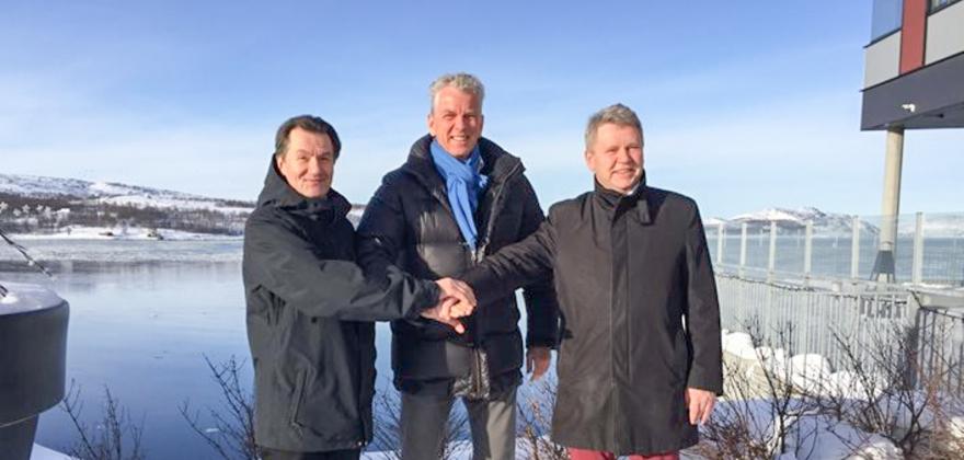 Gjennombrudd for 420 kV til Øst-Finnmark