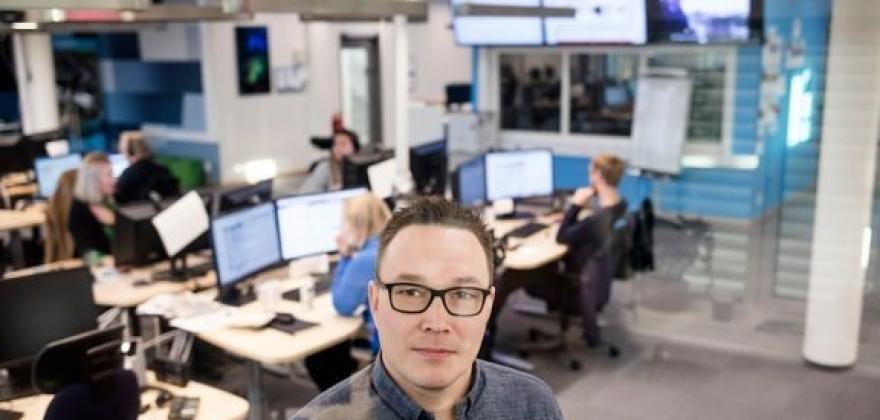 Robin Mortensen er ansatt som ny distriktsredaktør i NRK Finnmark
