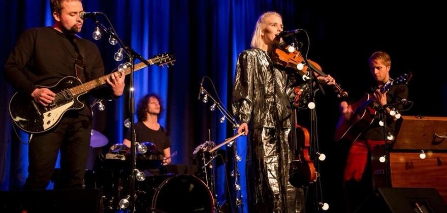 Plateslipp og turnéstart hos Perleporten Kulturhus