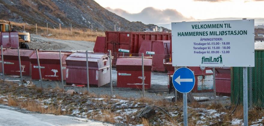 Hammernes stengt på fredag