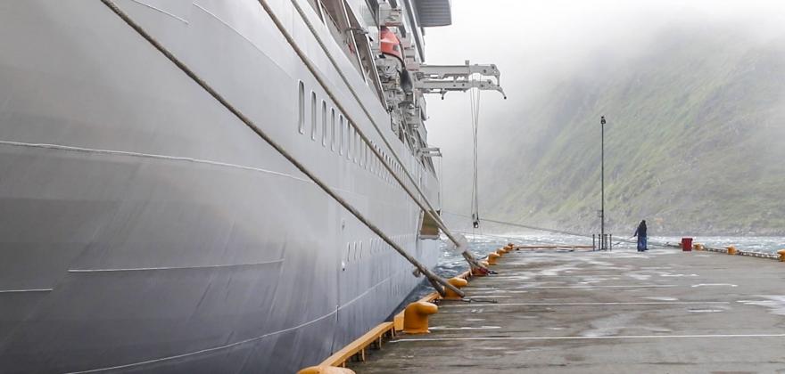 Sterk vind stoppet ombordstigning i «Viking Sun»
