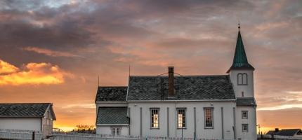 Honningsvåg kirke er siste stoppested for Nordnorsk Jul