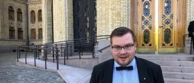 Tarjei Jensen Bech fungerer som fylkesordfører i Finnmark