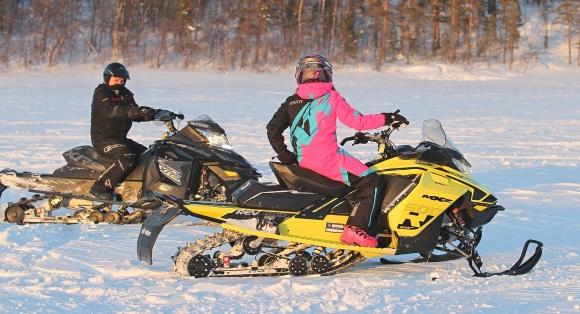 Utøve skjønn ved kjøring av snøscooter fra brøytet bilvei til hytte
