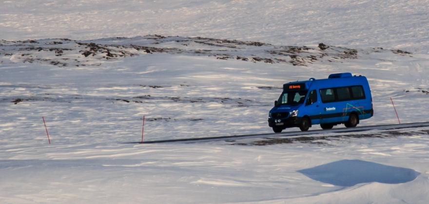 Midlertidig fartsgrense 60 km/t på fylkesveg 98 Holmfjell