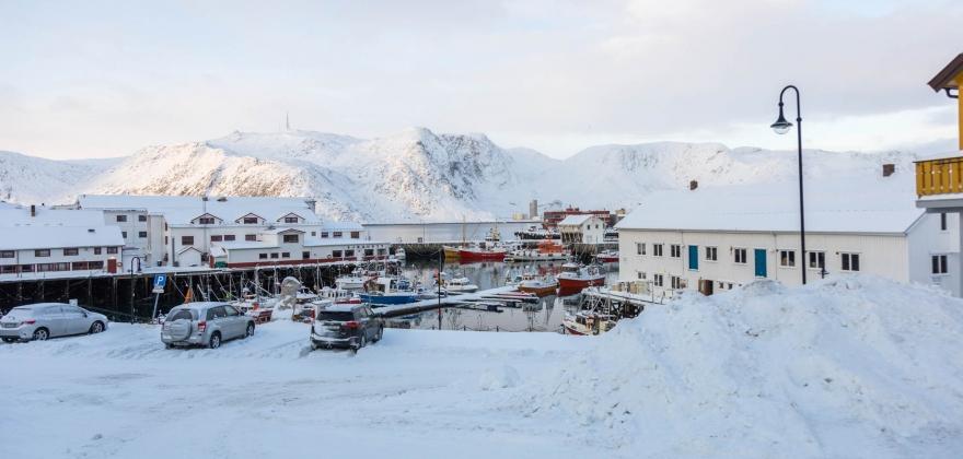 Fruholmen varmest i Finnmark