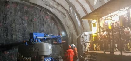 Nye Skarvbergtunnelen åpner tidligst sommeren 2022