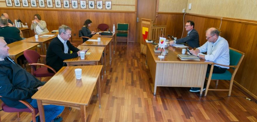 Åpningen av kommunestyremøte