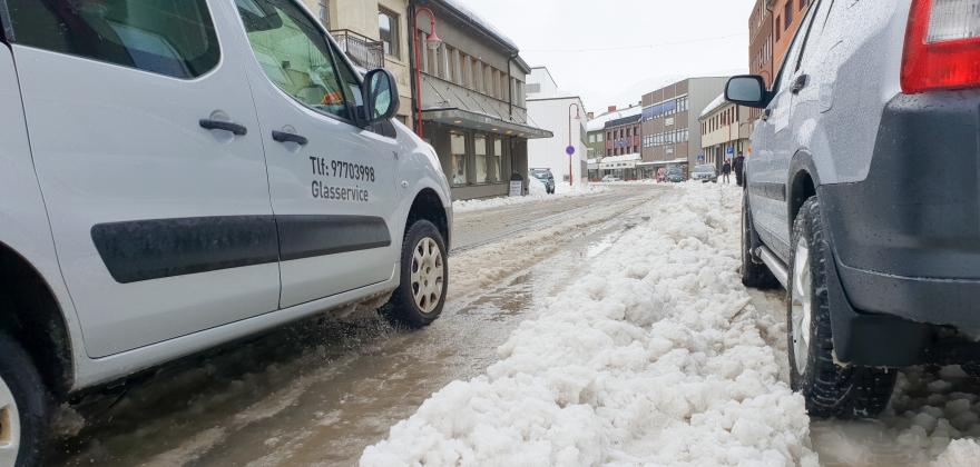 Skal rydde i Honningsvåg, ikke parker i sentrum