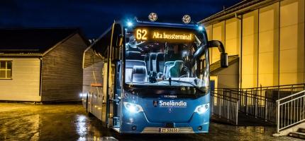 26 prosent færre kollektivreiser i Finnmark i 2020