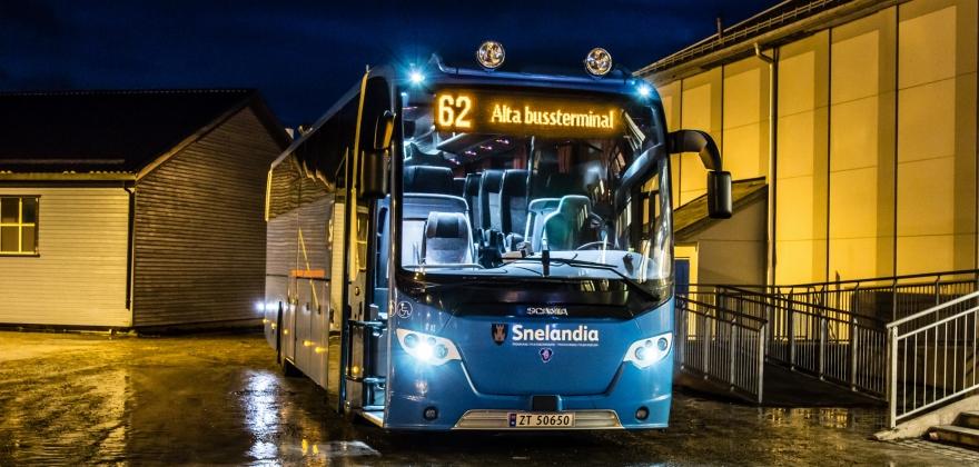 Boreal Transport kansellerte ettermiddagsbussen til Olderfjord