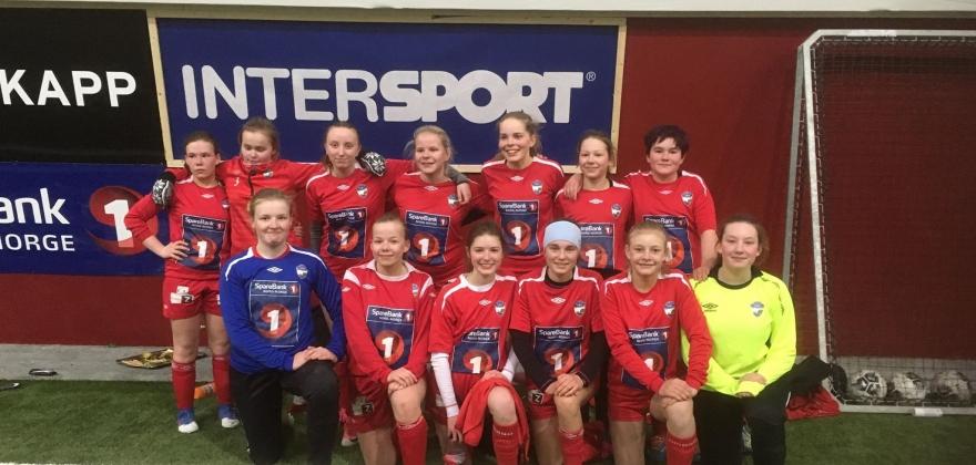Alta tok poeng i Honningsvåg i jenter 15-klassen