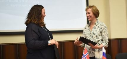 Inngikk samarbeidsavtale om opplæring med Murmansk fylke