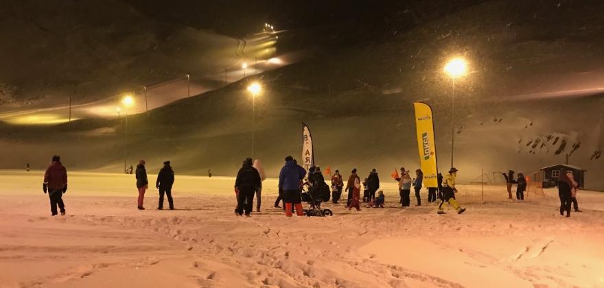 Har startet skisesongen i Nordvågen