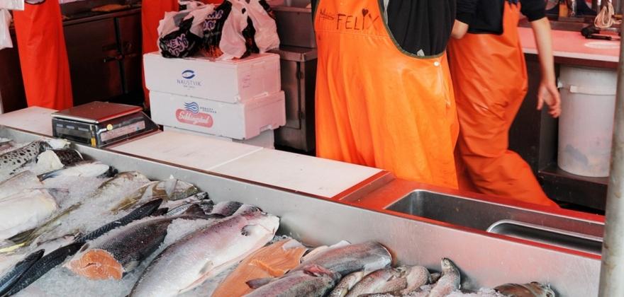 Sjømat stadig viktigere for landet