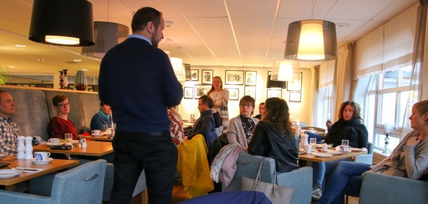 Frokostmøte i Honningsvåg