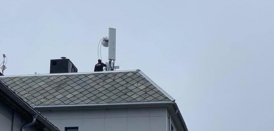 Verdens nordligste 5G-basestasjon satt i drift i Honningsvåg