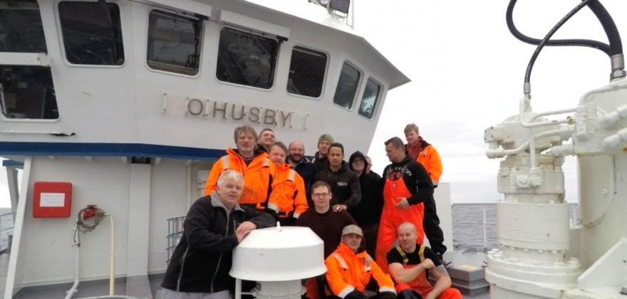 Autolinebåten «O. Husby» er Årets kvalitetsfisker